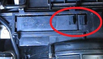 Acura EL frames tabs