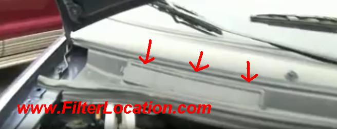 [DIAGRAM_5UK]  Ford Windstar cabin air filter location. | Ford Windstar Fuel Filter Location |  | FilterLocation.com