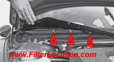 Alfa Romeo 156 cabin air filter plastic cover