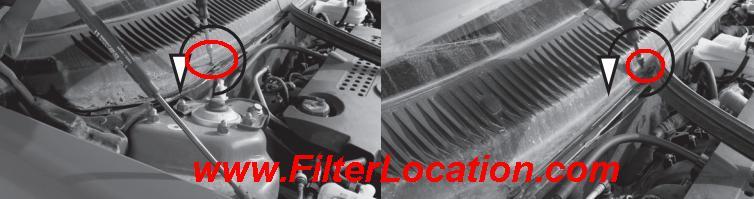 Alfa Romeo 156 replace cabin air filter