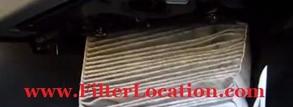 Audi A3 old filter replacement