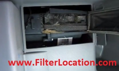Buick Terraza cabin air filter replacement