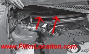 Cabin air filter Alfa Romeo 156 replacement