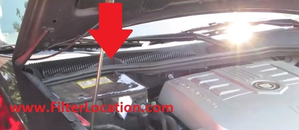 2003 cadillac cts oil filter location  2003  free engine