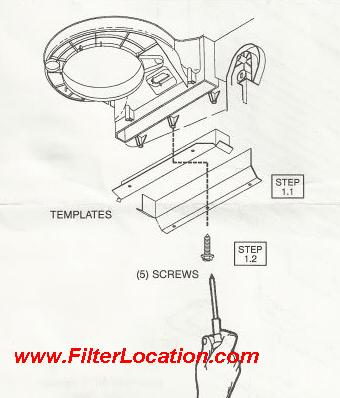 Ford F150 cabin air filter location.