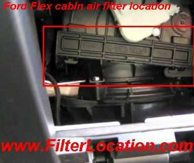 ford flex cabin air filter location. Black Bedroom Furniture Sets. Home Design Ideas