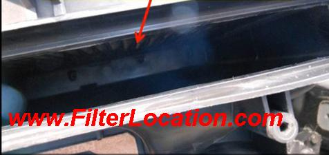 Install Ford F150 cabin air filter