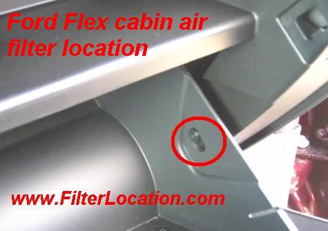 Ford Flex Cabin Air Filter Location Filterlocation Com