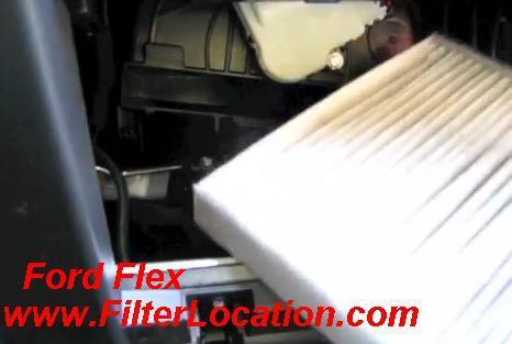 2013 ford flex fuel filter ford flex cabin air filter location filterlocation com  ford flex cabin air filter location
