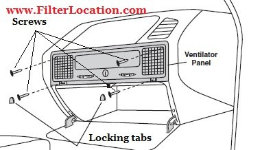 Cabin Air Filter Location Ford F150
