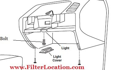 Locate and replace cabin air filter on bmw 325