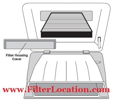 2010 Toyota Sienna cabin air fitler replacement