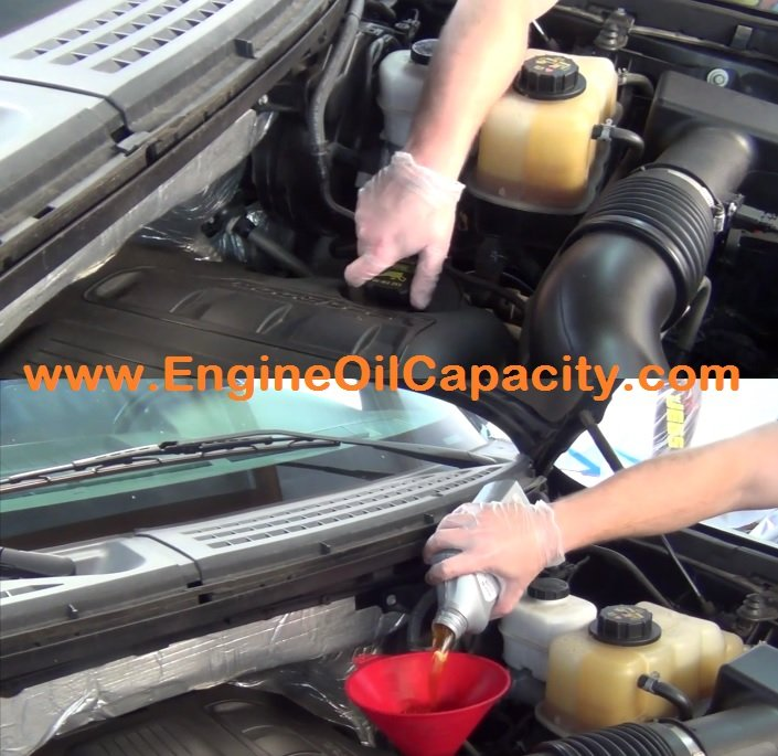 2001 ford expedition oil capacity