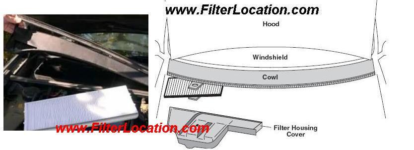 Replace cabin air filter Volksvagen Passat