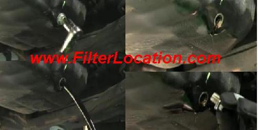 ChevyUplander drain oil