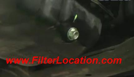 Chevy Uplander drain plug