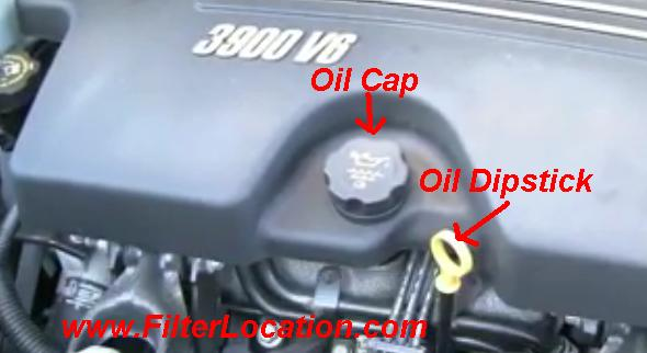 Chevrolet Uplander engine oil replace