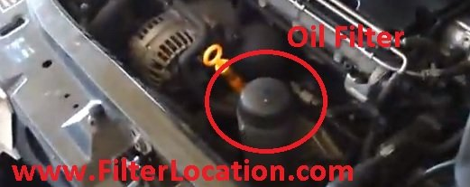 Locate Skoda Octavia Oil filter