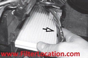 Replace Fiat Strada cabin air filter