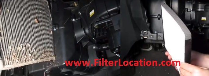 Replace Suzuki Swift cabin air filter