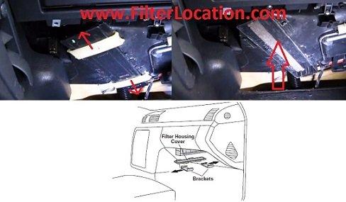 Chrysler Crossfire SRT6 cabin air filter