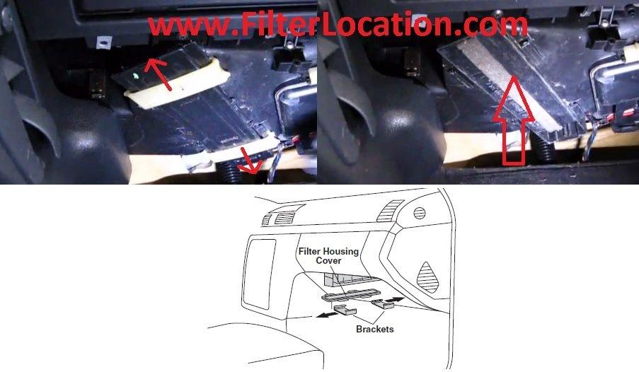 Mercedes Benz SLK 230 cabin air filter