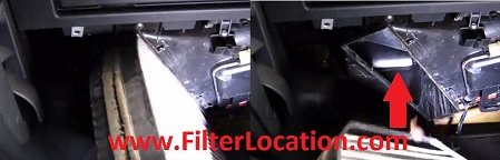 Replace Mercedes Benz C280 cabin air filter