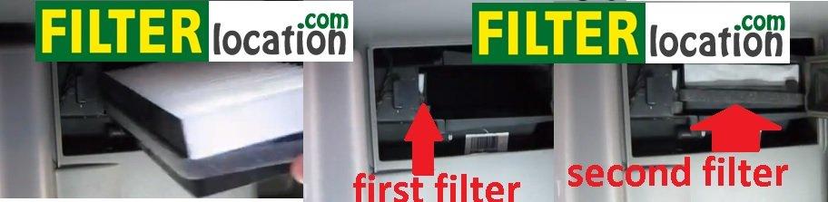 Replace cabin air filter on Pontiac Montana
