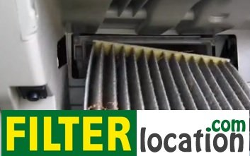 Toyota Yaris cabin air filter replacement