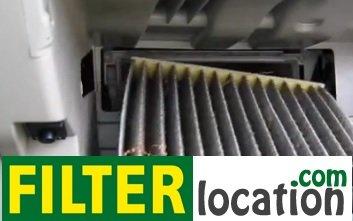 Toyota Yaris cabin air filter replacement
