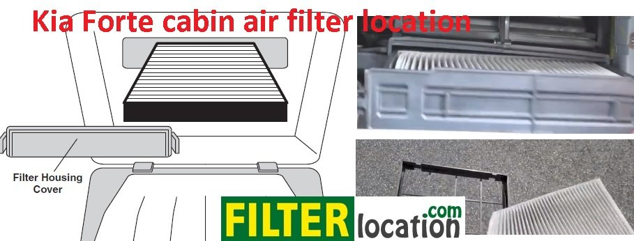 Kia Forte cabin air filter replacement