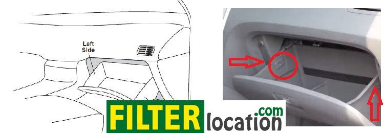Kia Sportage Cabin Air Filter Location on 2006 Kia Rio Fuel Filter Location