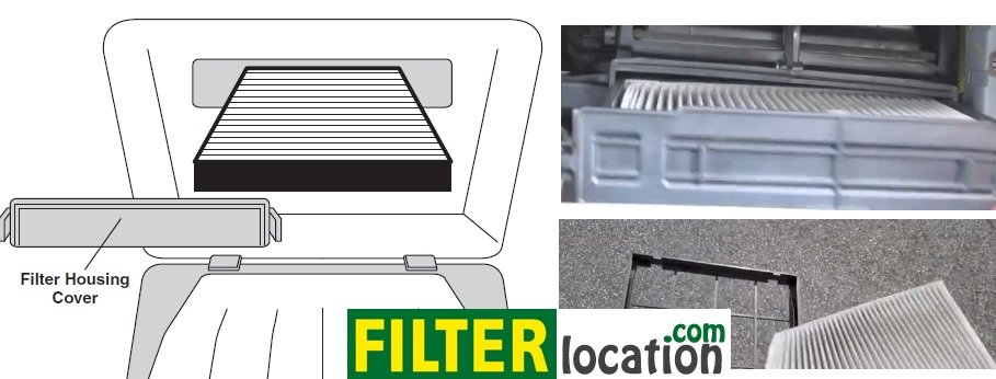Kia Sportage cabin air filter replacement