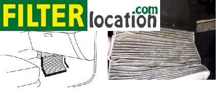 Remove Dodge Grand Caravan cabin air filter