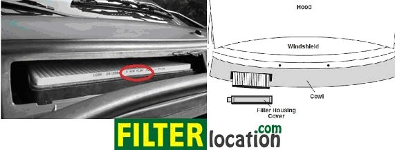 Replace Ford Mercury Monteray cabin air filter