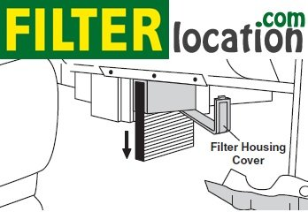 2003-2005 Chevrolet Suburban cabin air filter replacement