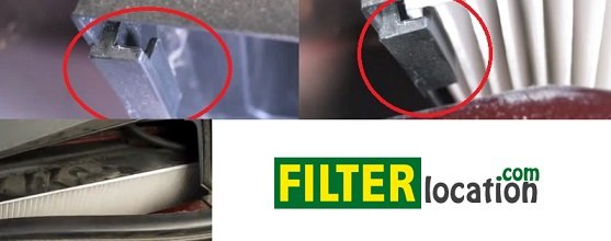 Chevrolet Equinox cabin air filter location