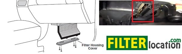 Change Suzuki Reno cabin air filter (1)