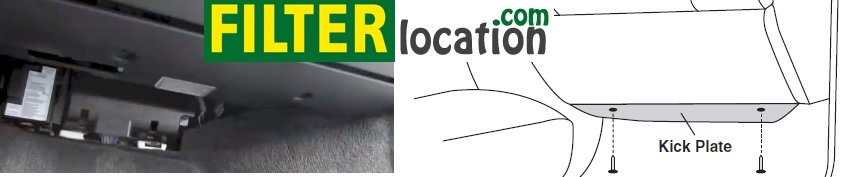Locate Volvo XC90 cabin air filter