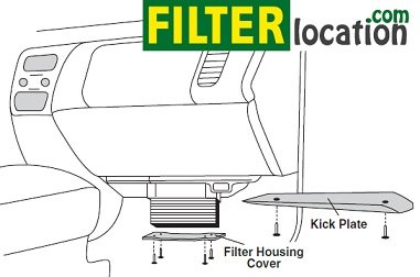 Replace 2001-2007 Volvo XC90 cabin air filter