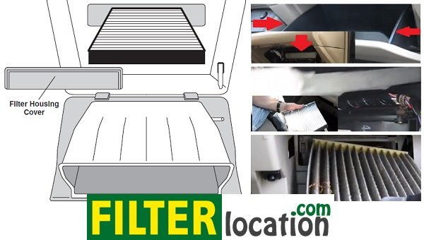 Replace 2008-on Toyota Land Cruiser cabin air filter