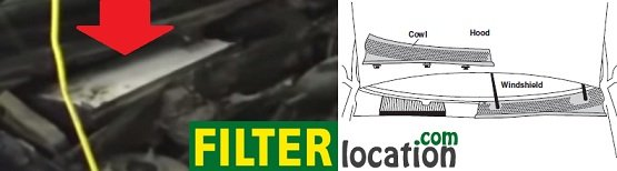 Replace Ford Escort ZX2 cabin air filter