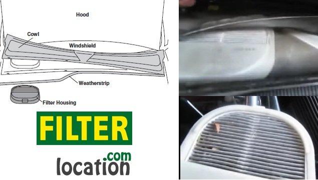 Replace Honda S2000 cabin air filter