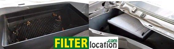Replace Mercury Mariner cabin air filter