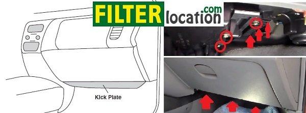 Suzuki Forenza Cabin Air Filter Location