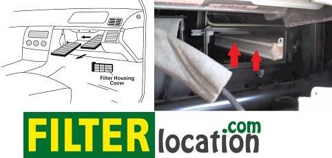 Change Mercedes-Benz CL55 cabin air filter