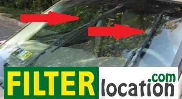 Prepare to locate Buick Allure cabin air filter