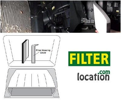 Chevrolet Aveo5 Cabin Air Filter Location