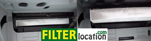 Change Hyundai Santa Fe cabi n air filter 2007-2009
