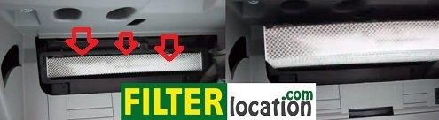 Change Kia Magentis cabin air filter